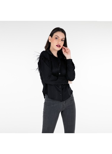 Trend Bluz Siyah